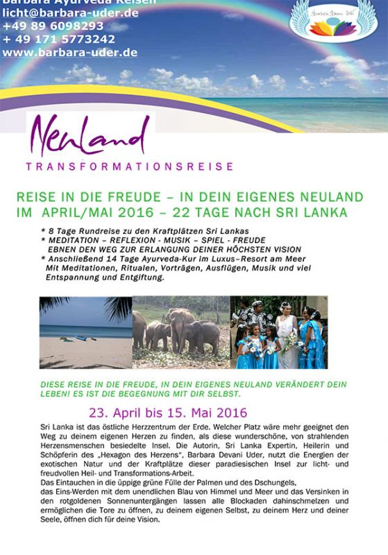 Transformations Reise Ins Farbenfrohe Sri Lanka Im Juni 2015